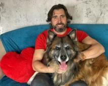 ČIKO - Ovčák x 39 kg - kastrovaný pes 11 let