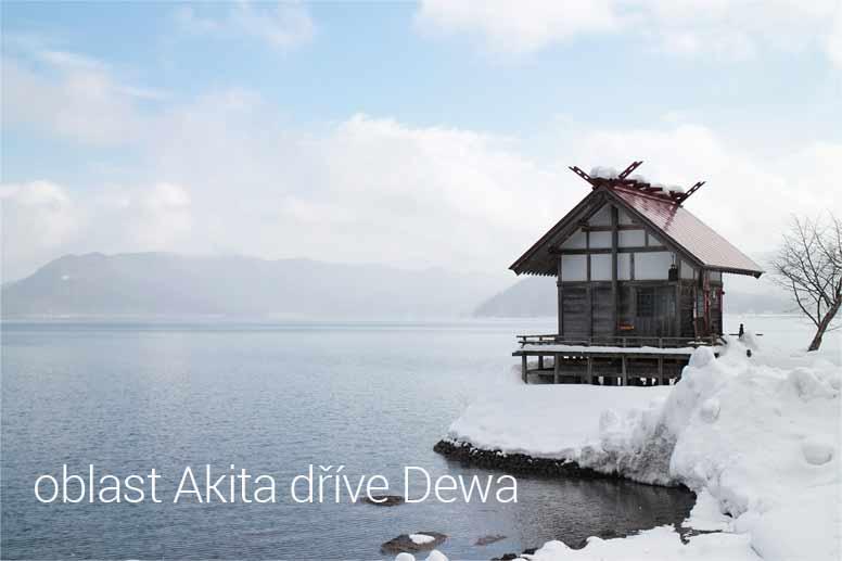 Oblast Akita, dříve Dewa