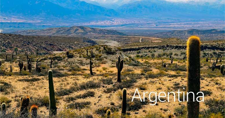Algentínská krajina