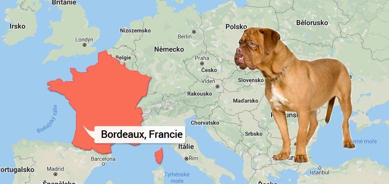 Mapa Francie