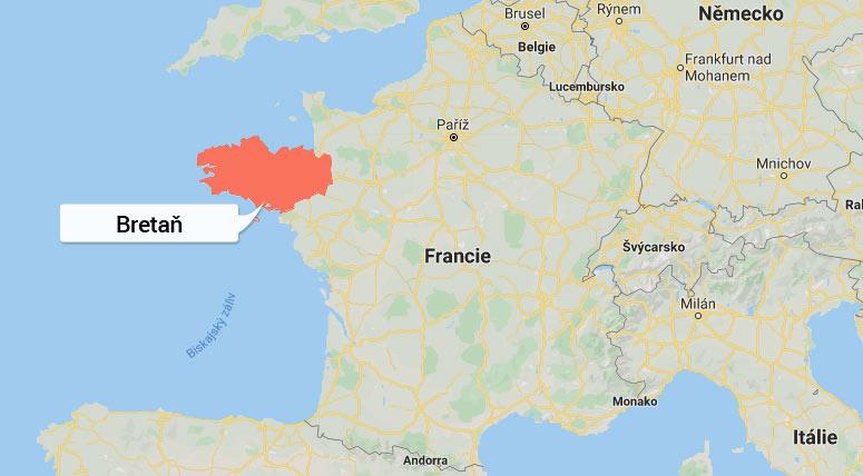 Oblast Bretaň - Francie